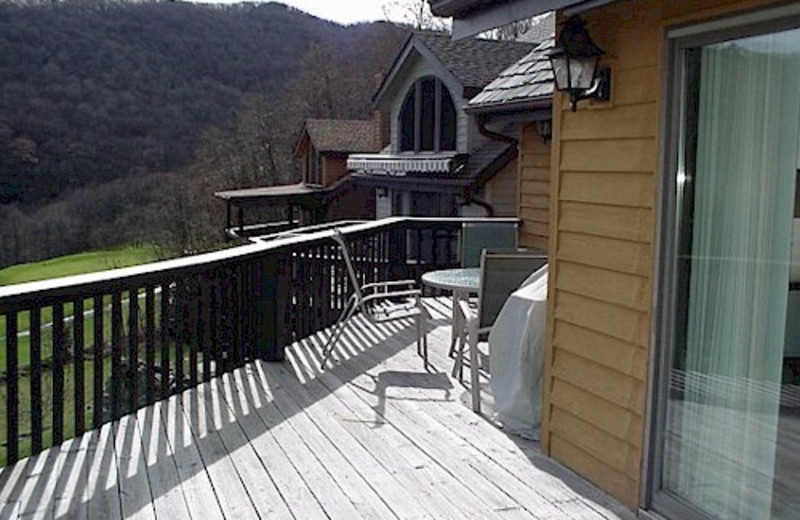 Deck View at A Slice of Heaven