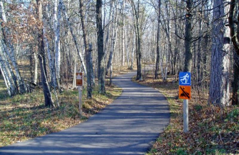 Nature Trail at Kavanaugh's Sylvan Lake Resort