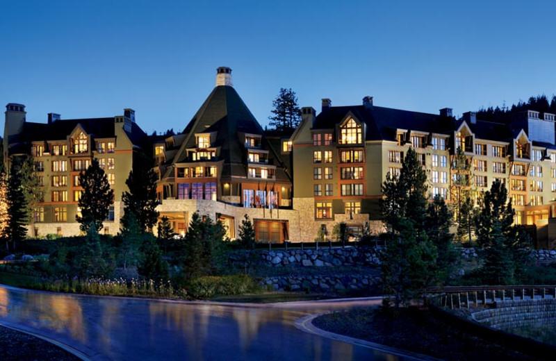 Exterior view of Ritz-Carlton Lake Tahoe.