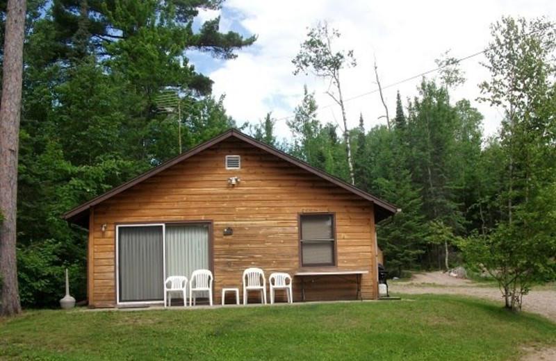 Cabin Exterior at Retreat Lodge & Resort