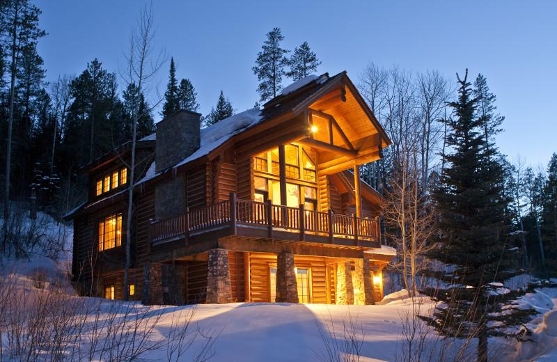 Vacation rental exterior at Cabin and Company.