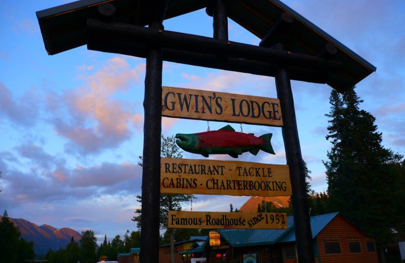 Welcome to Gwin's Lodge & Kenai Peninsula Charter Booking Service.