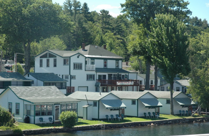 Exterior View of Channel Waterfront Cottages