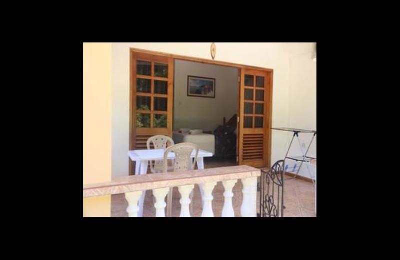 Patio at Villa Cocotier.
