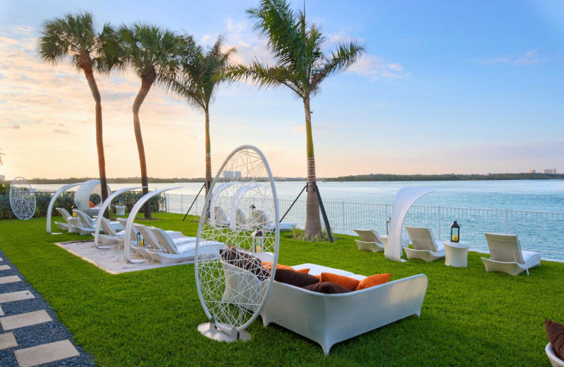 Ocean view at Bal Harbour Quarzo Luxury Boutique Hotel.