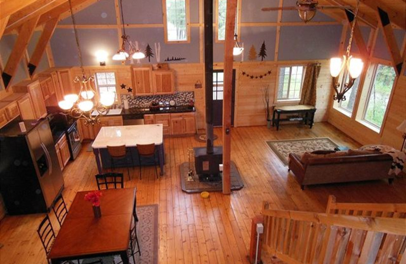 Cabin Interior At Idaho Cabin Keepers.