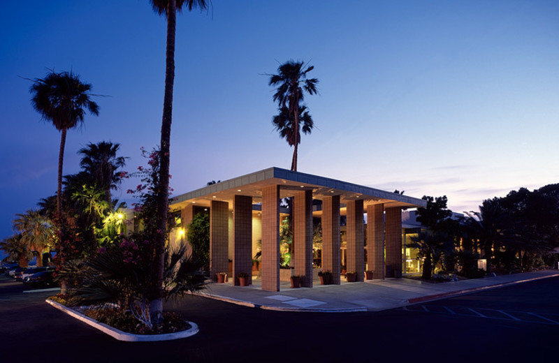 Exterior view of Desert Hot Springs Spa Hotel.