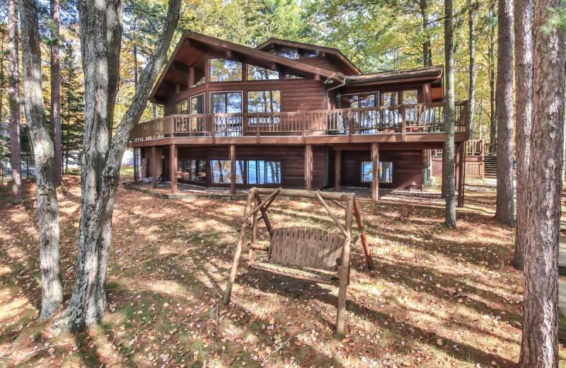 Rental exterior at Hiller Vacation Homes.