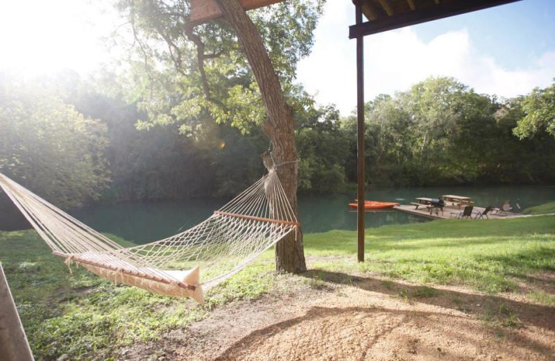 Hammock at Geronimo Creek Retreat.