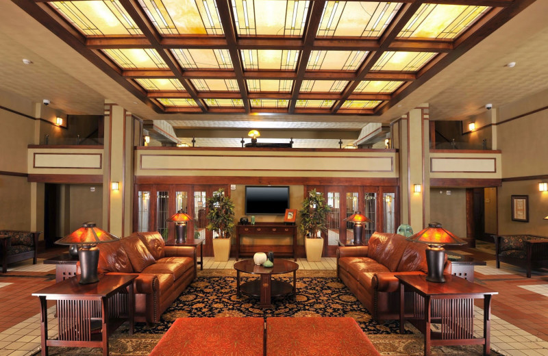 Lobby at Historic Park Inn.