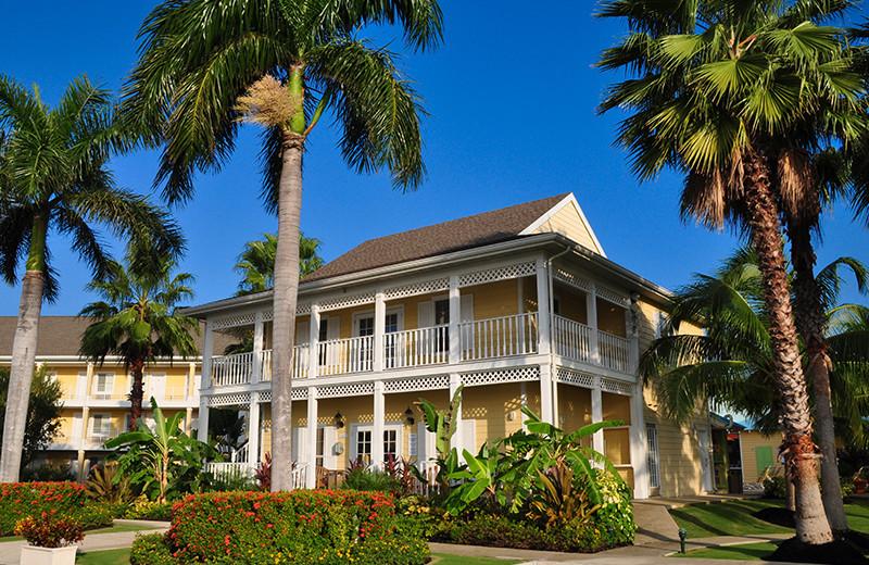 Exterior view of Sunshine Suites Resort.