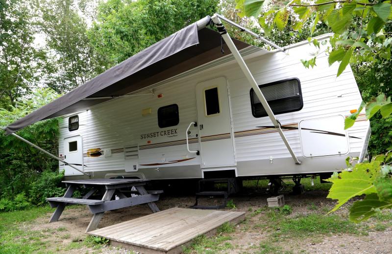 RV rental at Glen Ellis Family Campground.