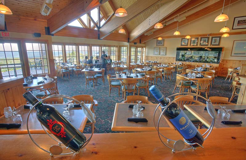 Dining at Superior Shores Resort.