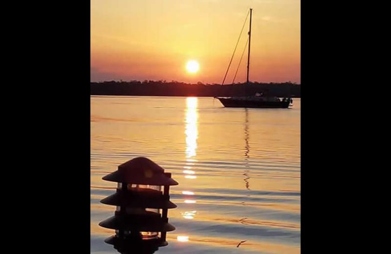 Sunset at Sunrise Bay Resort & Club Condominium.