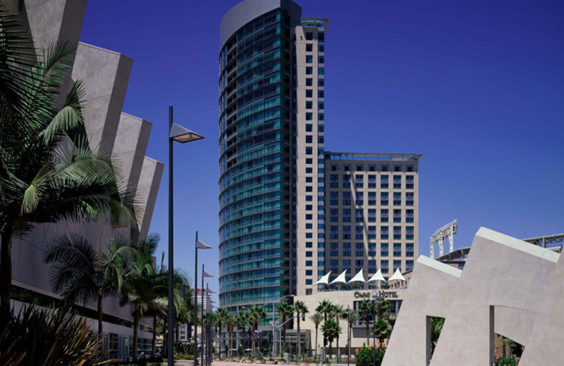Exterior view of Omni San Diego Hotel.
