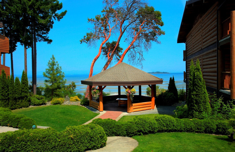 Gazebo at Tigh-Na-Mara Resort.
