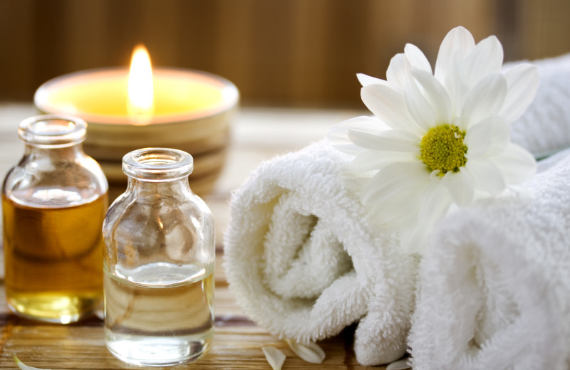 Herbal massage at Alisal Guest Ranch and Resort.