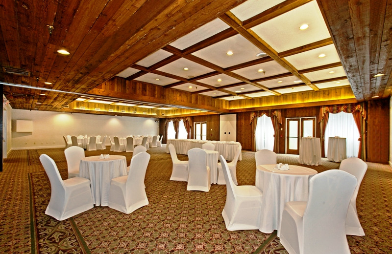Wedding reception at The Heritage Hotel.