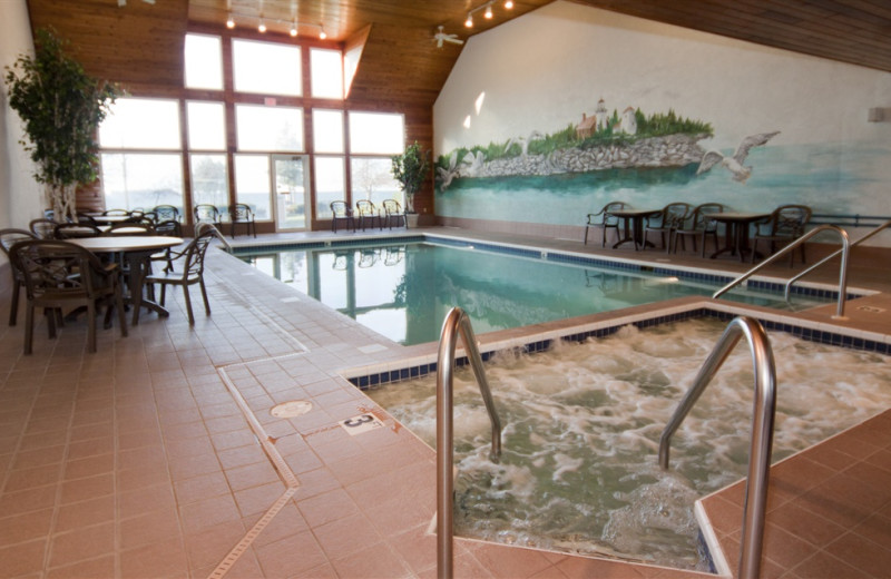 Indoor pool at Westwood Shores Waterfront Resort.