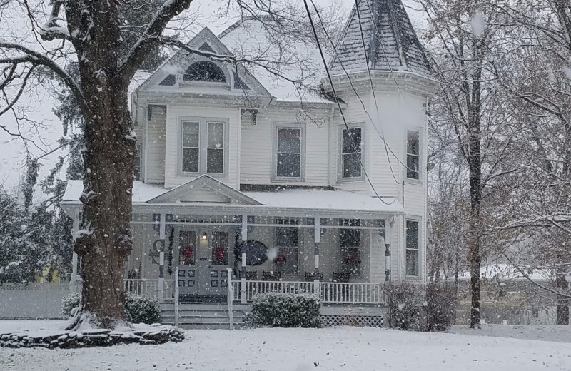 Winter at Stonegate Bed & Breakfast.