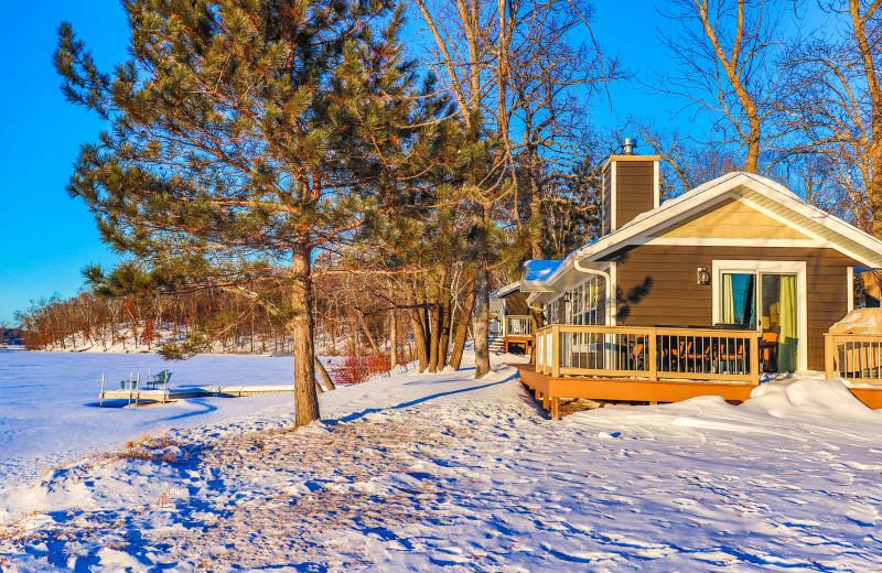 Winter at Lost Lake Lodge.