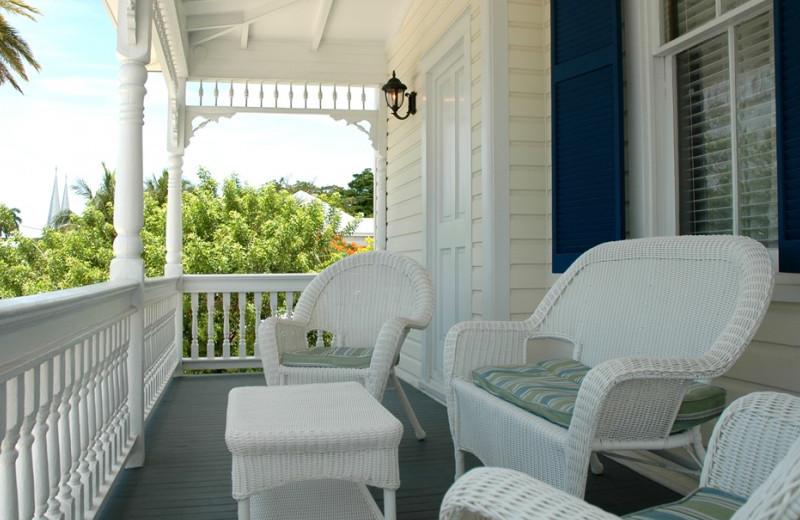Porch view at Azul Hotels.