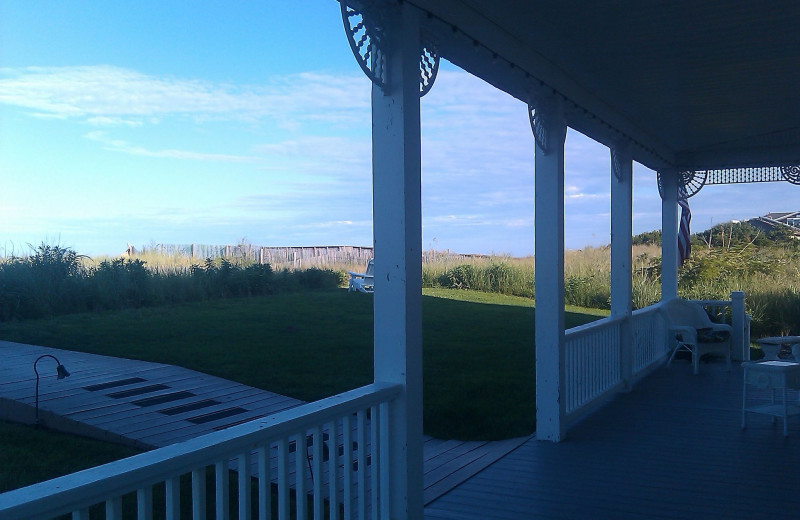 Porch at The Addy Sea.