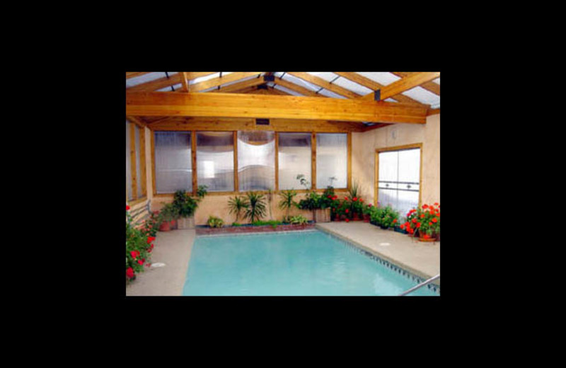Indoor pool at Georgetown Mountain Inn.