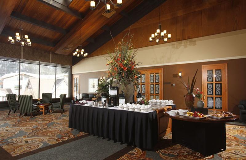 Event Setup at Banff Park Lodge