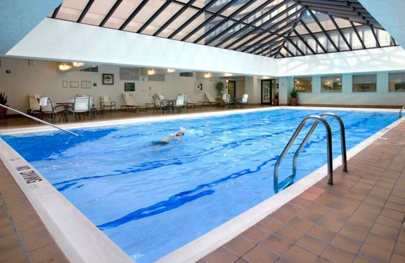 Indoor Swimming Pool at Holiday Inn Chicago Mart Plaza River North
