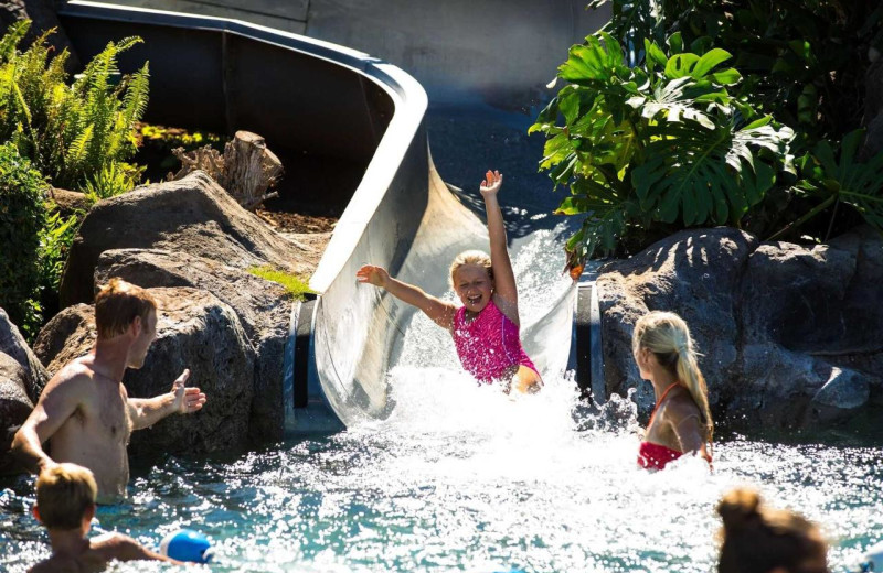 Water slide at Honua Kai Resort & Spa.