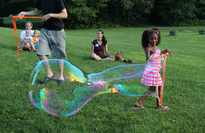 Children's activities at Common Ground Center.