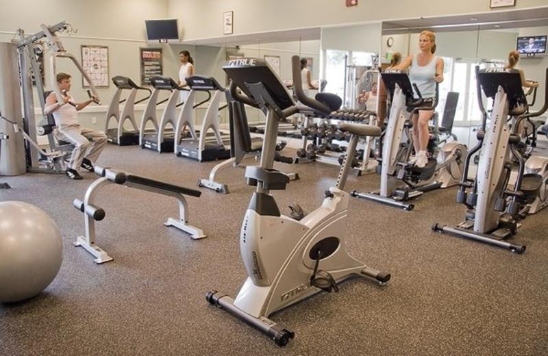 Fitness room at Mar Vista Resort Grande.