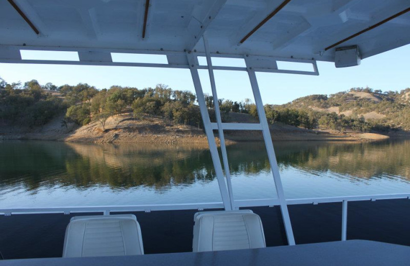 View from houseboat at Pleasure Cove.