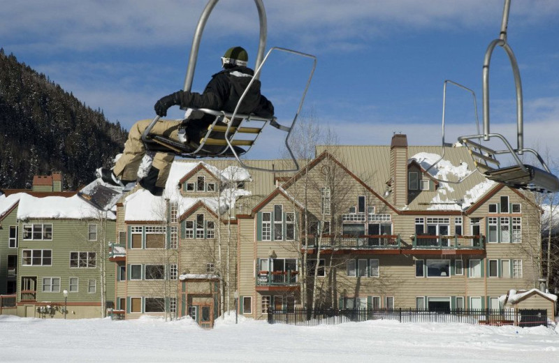 Skiing at Welcome to Telluride Vacation Rentals.