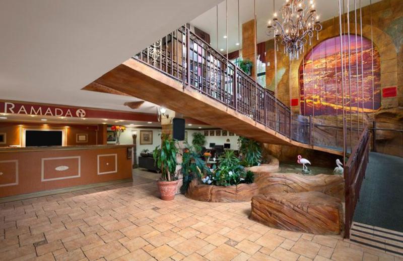 Lobby at Ramada Hollywood Downtown