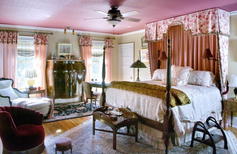 Guest room at Juniper Hill B&B.