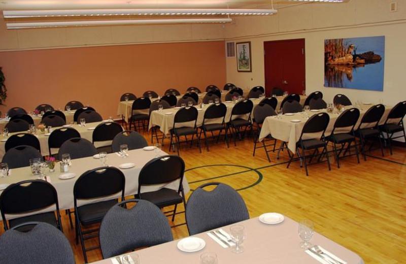 Meetings room at Honeymoon Bay Lodge & Retreat.