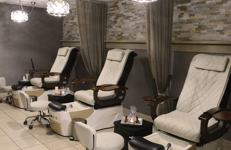 Pedicures at Eaglewood Resort & Spa.