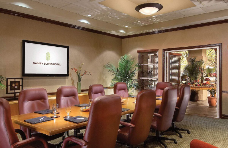 Meeting room at Gainey Suites Hotel.