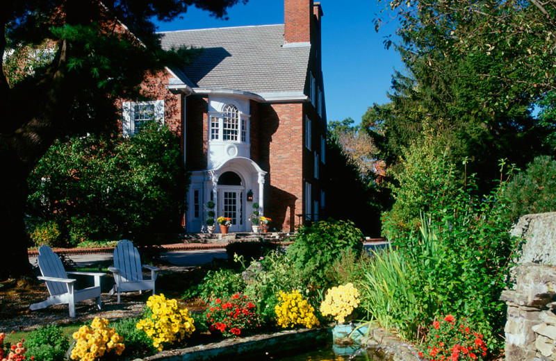 Exterior view of The Spa at Norwich Inn.
