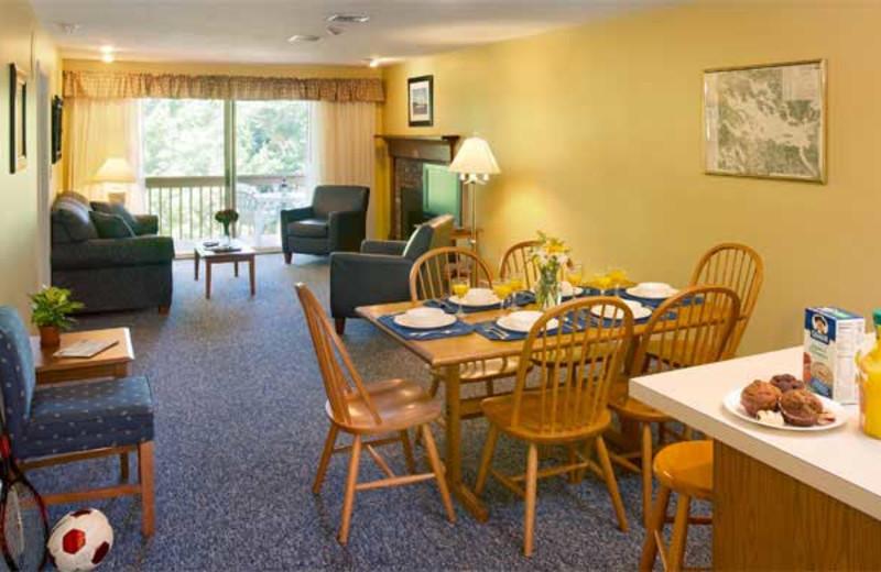Suite interior at Summit Resort.
