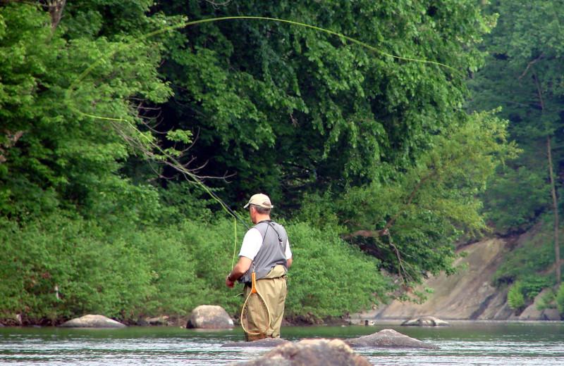 Fishing near Casita Grove Vacation Home.