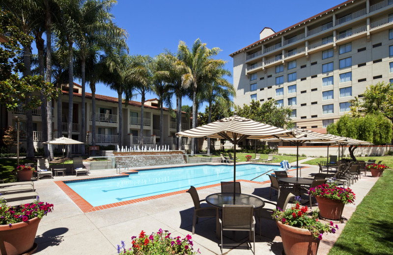 Outdoor pool at Sheraton San Jose Hotel.
