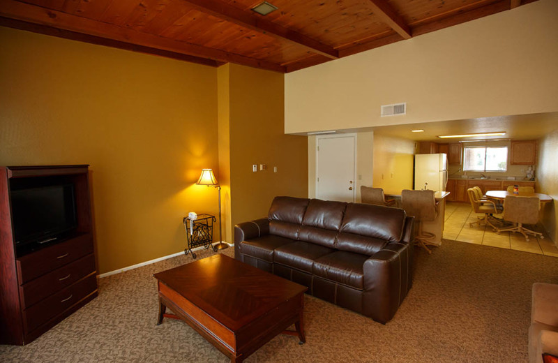 Living room at Havasu Springs Resort.