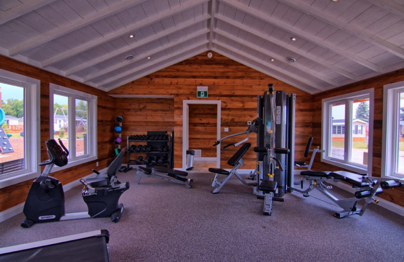 Fitness center at Great Blue Resorts- Bellmere Winds Resort.