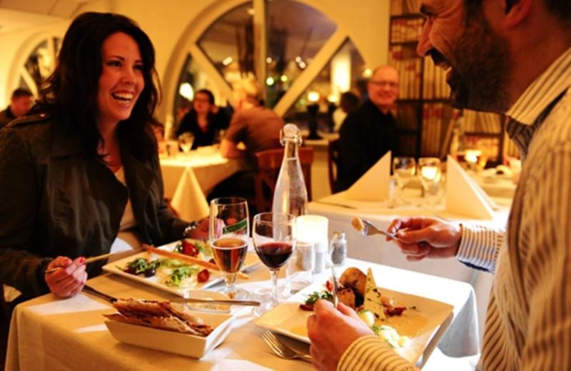 Dining at Arctic Hotel Lulea.