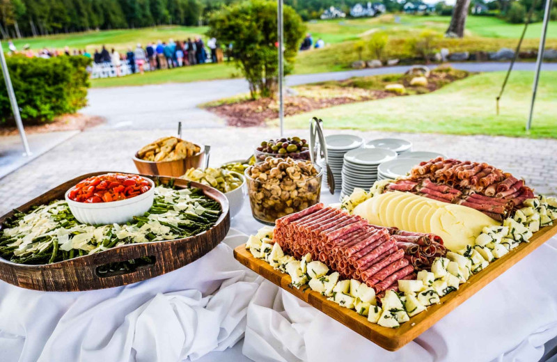 Catering at Owl's Nest Resort & Golf Club.