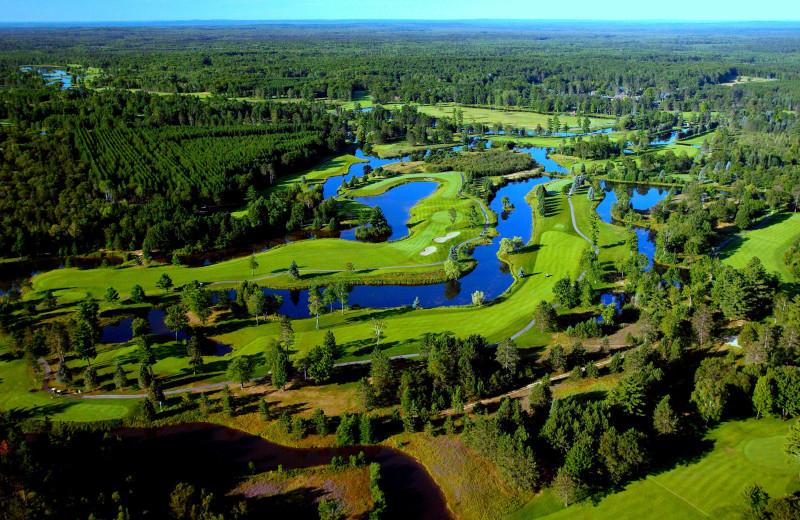 Golf at Garland Lodge and Resort.