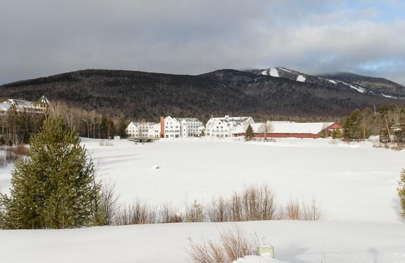 Winter time at Best Western Silver Fox Inn.